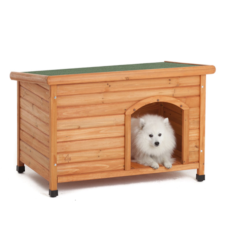 DOG-KENNEL-SMALL-MED-LATEST-CABIN-STYLE-WOODEN-VALUE