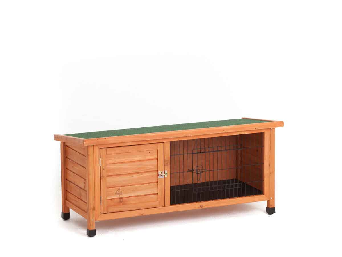 rabbit hutch house easy clean best single storey guinea